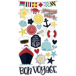 Simple Stories - Cruisin' Collection - Chipboard Stickers