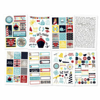 Simple Stories - Cruisin' Collection - Cardstock Stickers