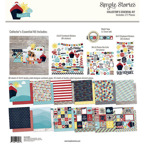 Simple Stories - Cruisin' Collection - 12 x 12 Collector's Essential Kit