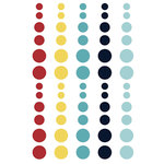 Simple Stories - Cruisin' Collection - Enamel Dots
