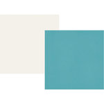 Simple Stories - Cruisin' Collection - 12 x 12 Double Sided Paper - Teal
