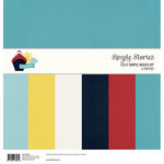 Simple Stories - Cruisin' Collection - 12 x 12 Simple Basics Kit