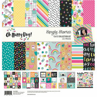 Simple Stories - Oh Happy Day Collection - 12 x 12 Collection Kit