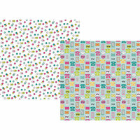 Simple Stories - Oh Happy Day Collection - 12 x 12 Double Sided Paper - Oh Hello