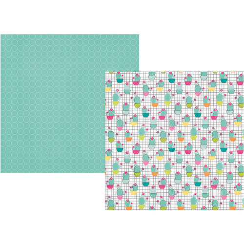 Simple Stories - Oh Happy Day Collection - 12 x 12 Double Sided Paper - Stay Sharp
