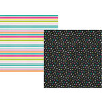 Simple Stories - Oh, Happy Day Collection - 12 x 12 Double Sided Paper - Wild and Free