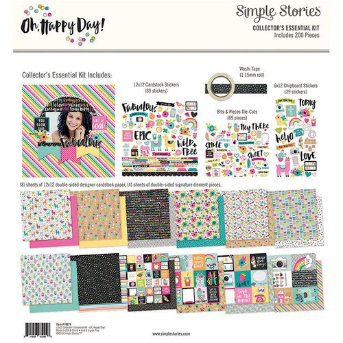 Simple Stories - Oh Happy Day Collection - 12 x 12 Collector