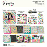 Simple Stories - Oh Happy Day Collection - 12 x 12 Collector's Essential Kit