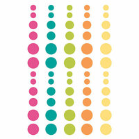Simple Stories - Oh Happy Day Collection - Enamel Dots