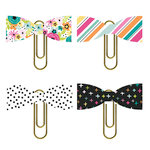 Simple Stories - Oh Happy Day Collection - Paper Bow Clips