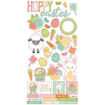 Simple Stories - Bunnies and Baskets Collection - Cardstock Stickers