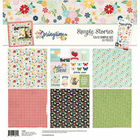 Simple Stories - Springtime Collection - 12 x 12 Collection Kit