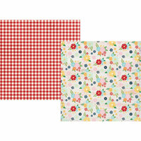 Simple Stories - Springtime Collection - 12 x 12 Double Sided Paper - Welcome Spring