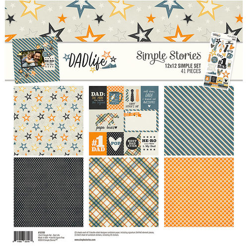 Simple Stories - Dad Life Collection - 12 x 12 Collection Kit