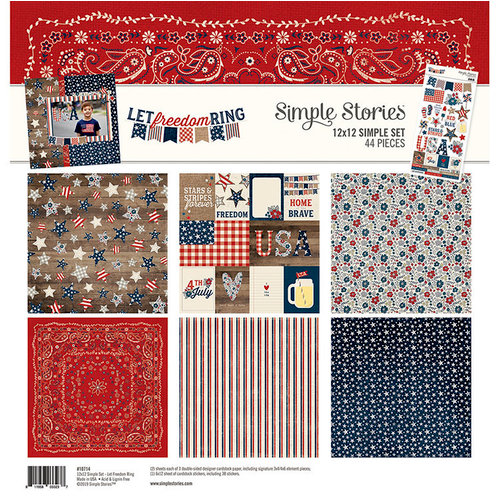 Simple Stories - Let Freedom Ring Collection - 12 x 12 Collection Kit