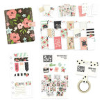 Simple Stories - Carpe Diem - Personal Planner Bundle - Black Blossom - Undated