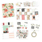 Simple Stories - Carpe Diem - A5 Planner Bundle - Cream Blossom - Undated