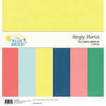 Simple Stories - Sunshine and Blue Skies Collection - 12 x 12 Simple Basics Kit