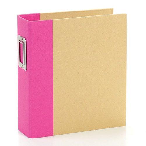 Simple Stories - SNAP Studio Collection - Binder - Pink