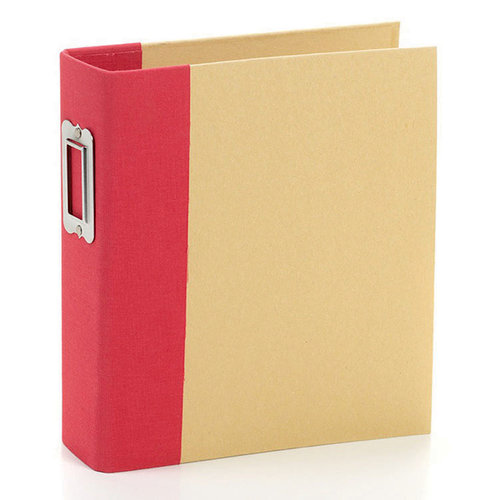 Simple Stories - SNAP Studio Collection - Binder - Red