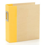 Simple Stories - SNAP Studio Collection - Binder - Yellow