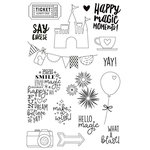 Simple Stories - Say Cheese 4 Collection - Clear Photopolymer Stamps - Magic
