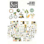 Simple Stories - Carpe Diem - Live Simply Collection - A5 Sticker Tablet