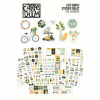 Carpe Diem - Live Simply Collection - A5 Sticker Tablet