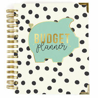 Carpe Diem - Budget Collection - 12 Month Spiral Planner with Gold Foil Accents - Undated