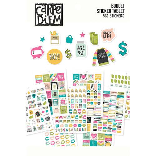 Carpe Diem - Budget Collection - A5 Sticker Tablet