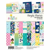 Simple Stories - Little Princess Collection - 6 x 8 Paper Pad