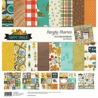 Simple Stories - Happy Trails Collection - 12 x 12 Collection Kit