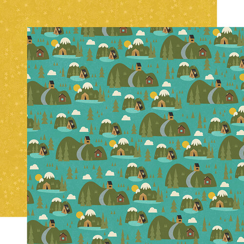 Simple Stories - Happy Trails Collection - 12 x 12 Double Sided Paper - Great Outdoors