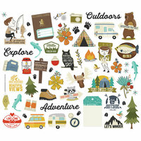 Simple Stories - Happy Trails Collection - Bits and Pieces
