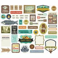 Simple Stories - Happy Trails Collection - Bits and Pieces - Journal