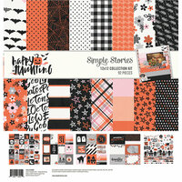 Simple Stories - Happy Haunting Collection - 12 x 12 Collection Kit
