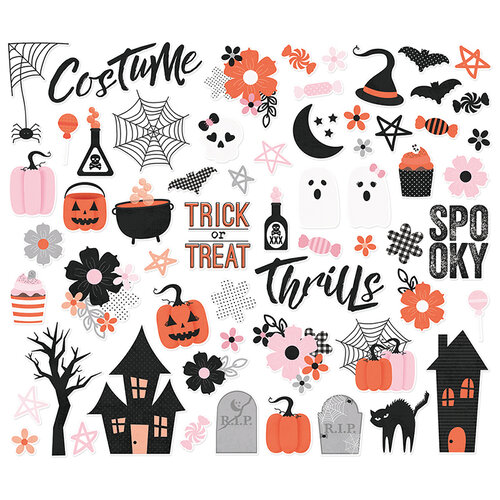 Simple Stories - Happy Haunting Collection - Bits and Pieces
