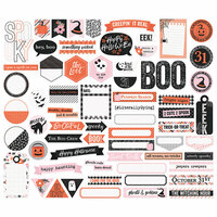 Simple Stories - Happy Haunting Collection - Bits and Pieces - Journal