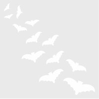 Simple Stories - Happy Haunting Collection - 6 x 6 Stencil