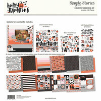 Simple Stories - Happy Haunting Collection - 12 x 12 Collector's Essential Kit