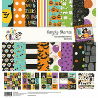 Simple Stories - Say Cheese Halloween Collection - 12 x 12 Collection Kit