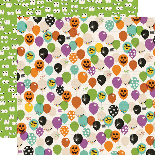Simple Stories - Say Cheese Halloween Collection - 12 x 12 Double Sided Paper - FaBOOlous