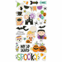 Simple Stories - Say Cheese Halloween Collection - Chipboard Stickers