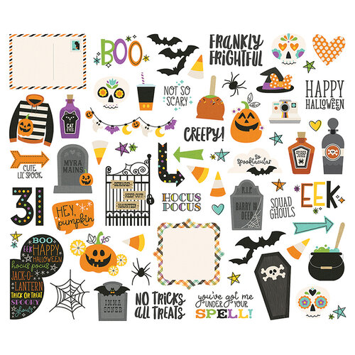 Simple Stories - Say Cheese Halloween Collection - Bits and Pieces