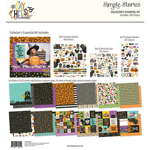 Simple Stories - Say Cheese Halloween Collection - 12 x 12 Collector