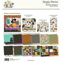 Simple Stories - Say Cheese Halloween Collection - 12 x 12 Collector's Essential Kit