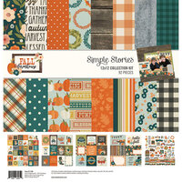 Simple Stories - Fall Farmhouse Collection - 12 x 12 Collection Kit