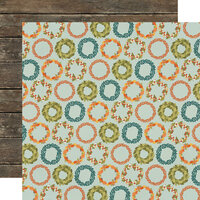 Simple Stories - Fall Farmhouse Collection - 12 x 12 Double Sided Paper - So Very Grateful