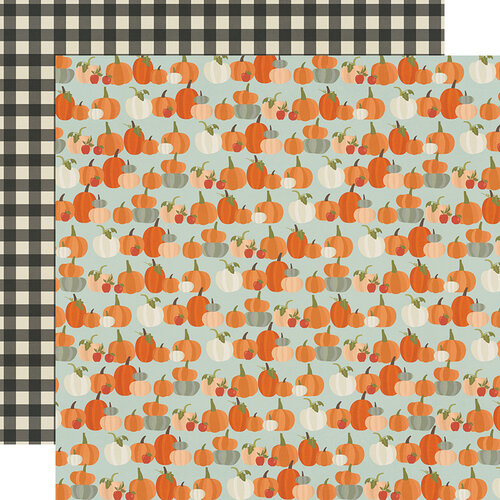 Simple Stories - Fall Farmhouse Collection - 12 x 12 Double Sided Paper - Lil