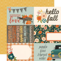 Simple Stories - Fall Farmhouse Collection - 12 x 12 Double Sided Paper - 4 x 6 Elements